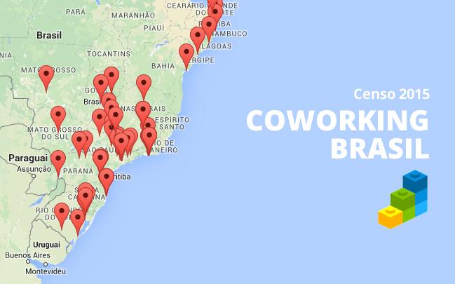 Censo Coworking 2015: 4 dados sobre o crescimento do coworking no Brasil