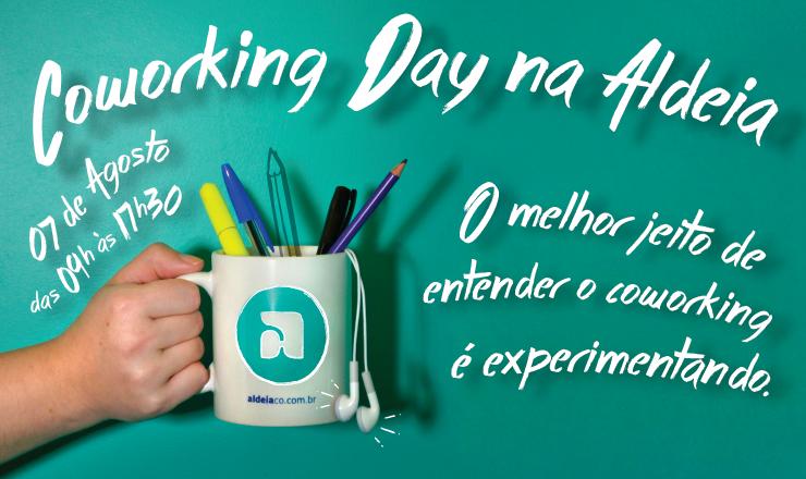 Coworking Day 2015 na Aldeia!