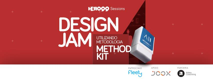 Hero99 Sessions traz design jam animadora para a Aldeia Coworking
